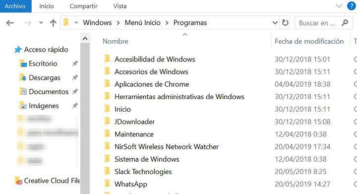 Imagen - Cómo añadir un acceso directo al menú de inicio de Windows