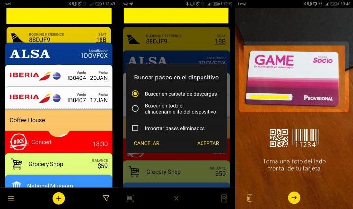 Imagen - PassWallet, la app para guardar tarjetas de embarques y otros billetes