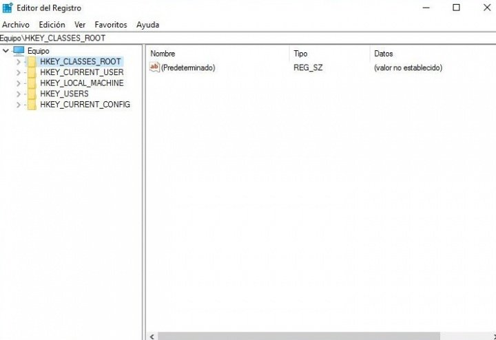 Imagen - ¿Qué es el registro de Windows?