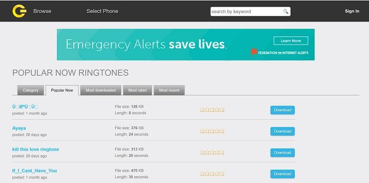 Imagen - Dónde encontrar tonos de llamada gratis
