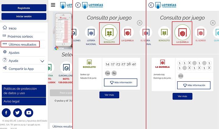 Imagen - Cómo consultar la Primitiva, Quiniela y otras Loterías del Estado