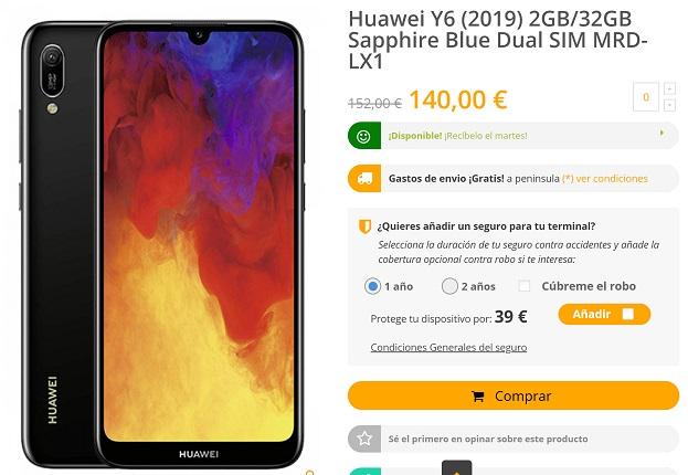 Imagen - Dónde comprar el Huawei Y6
