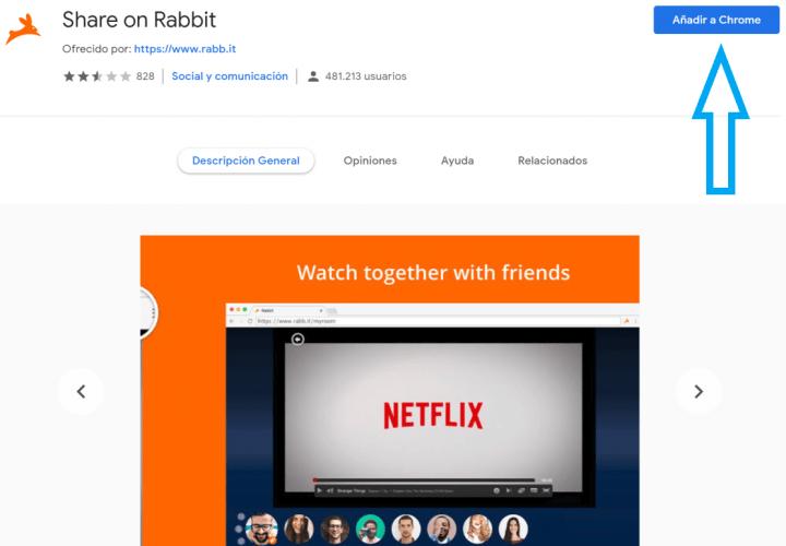 Imagen - Rabb.it, la web para ver películas y series junto a otras personas mediante videollamada