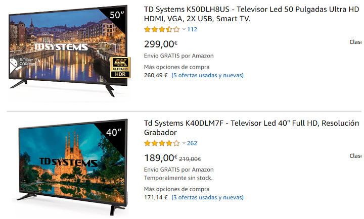 Imagen - Dónde comprar Smart TV de TD Systems