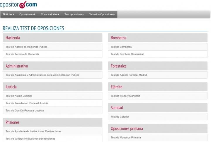 Imagen - 8 webs de tests de oposiciones gratis