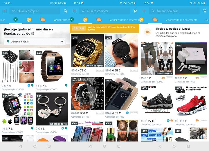 Imagen - Cómo comprar en Wish