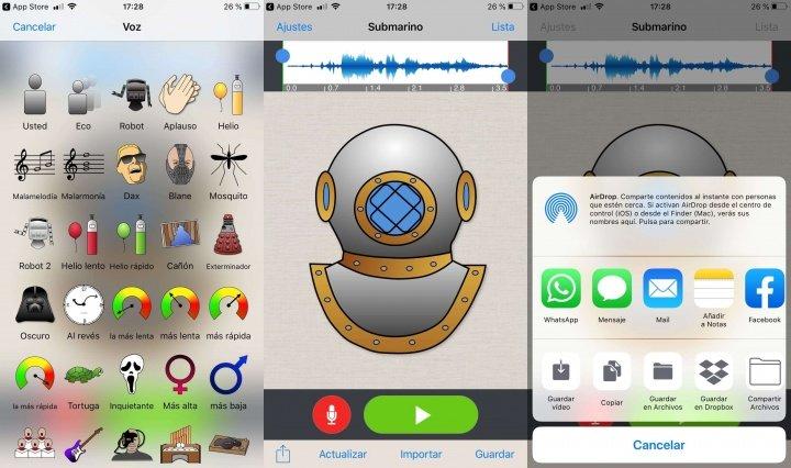 Imagen - Cómo cambiar la voz en WhatsApp