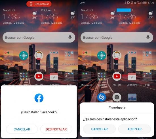 Imagen - Cómo eliminar la app de Facebook