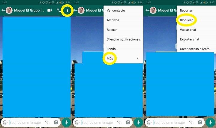 Imagen - Cómo bloquear llamadas y videollamadas de WhatsApp