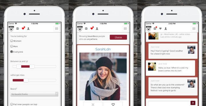 Imagen - Bristlr, una app de citas que une a hombres con barba con mujeres