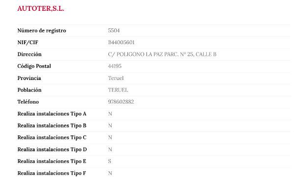 Imagen - Cómo buscar instaladores de TDT registrados