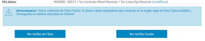 Imagen - Cómo comprobar la cobertura de fibra óptica de Movistar