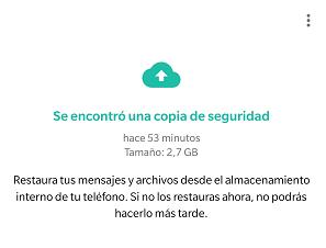 Imagen - Cómo no perder las conversaciones de WhatsApp al cambiar de móvil