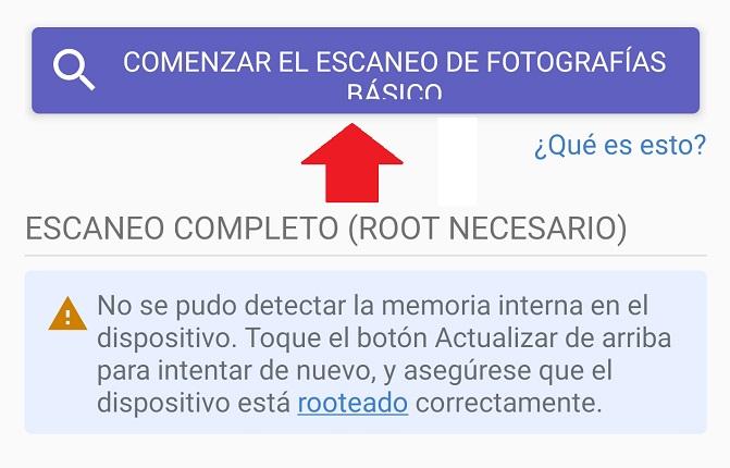 Imagen - Cómo recuperar las fotos borradas del móvil
