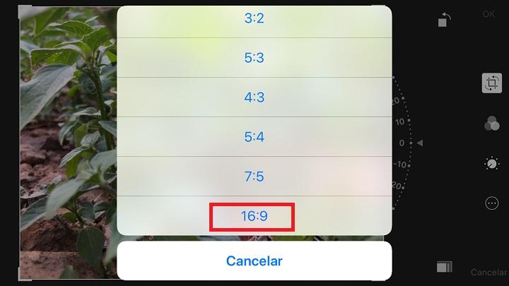 Imagen - ¿Se pueden hacer fotos en formato 16:9 en el iPhone?
