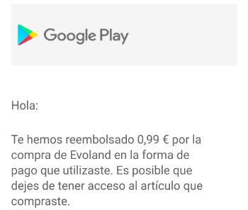 Imagen - Reembolso Google Play: Cómo devolver apps compradas