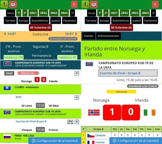 Imagen - Descarga Futbolme y sigue el fútbol online