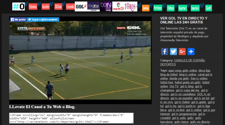 Imagen - Cómo ver Gol TV online