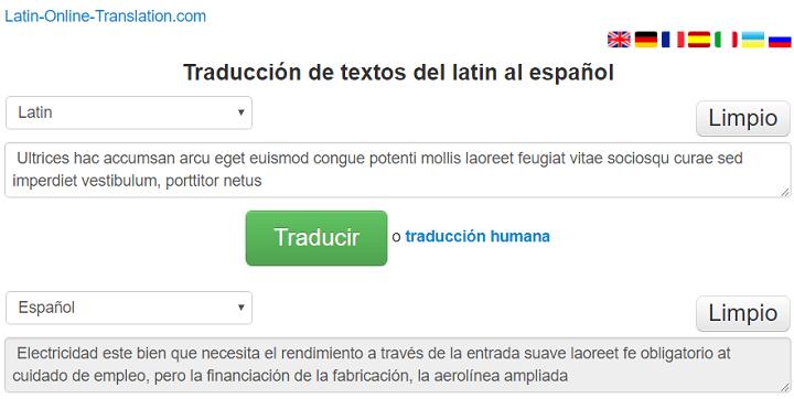 Imagen - 7 traductores de latín a español
