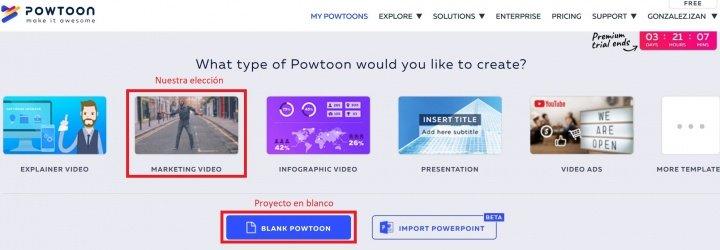 Imagen - Cómo usar Powtoon