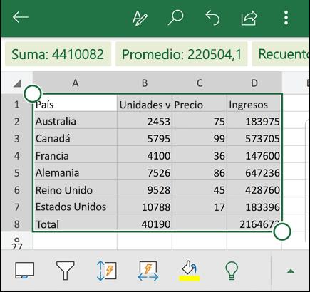 Imagen - Cómo insertar datos desde imagen en Excel desde iOS y Android