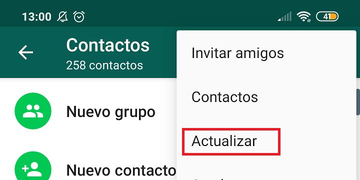Imagen - ¿Por qué WhatsApp me muestra números en vez de nombres de contactos?