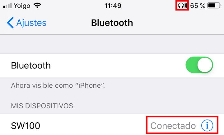 Imagen - Cómo conectar un altavoz Bluetooth con el móvil