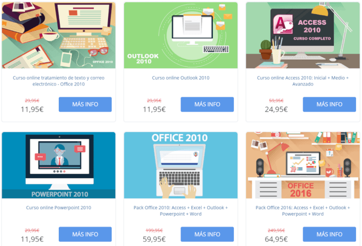 Imagen - 12 cursos de Office online