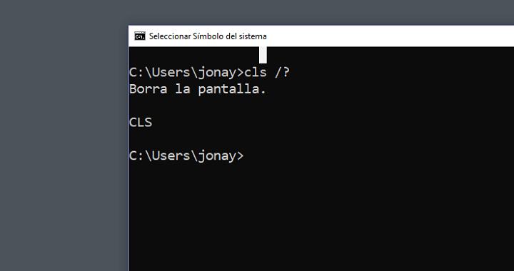 Imagen - ¿Qué es el comando CLS?