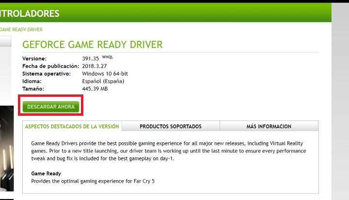 Imagen - Cómo actualizar los drivers de la gráfica Nvidia