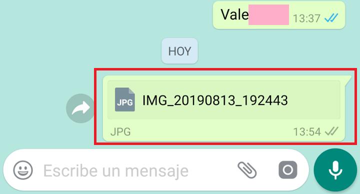Imagen - Cómo enviar fotos por WhatsApp sin perder calidad