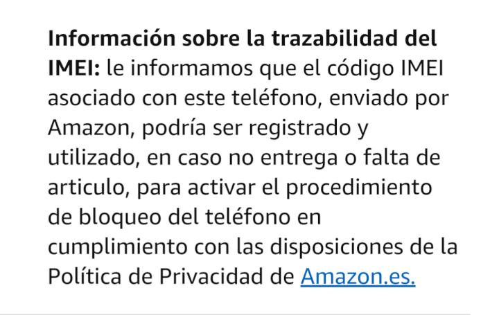 Imagen - ¿Por qué Amazon guarda el IMEI de los móviles que vende?