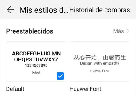 Imagen - Cómo cambiar la letra en Huawei EMUI