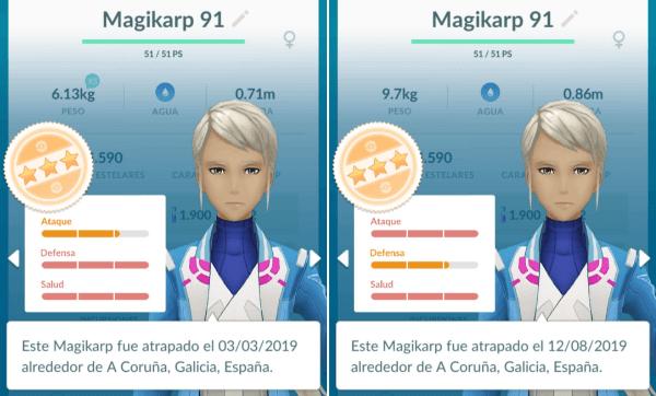 Imagen - Valores IV en Pokémon Go: qué son y qué diferencia tienen con los PC