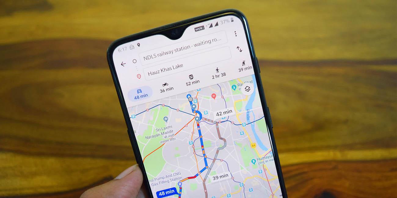 Cómo controlar la música en Google Maps