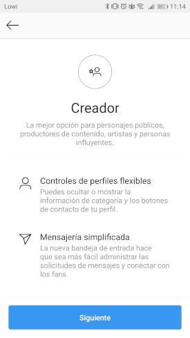 """Imagen - Cómo ponerte """"Perfil Creador"""" en Instagram"""