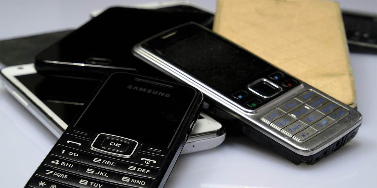 Dónde y cómo reciclar un móvil