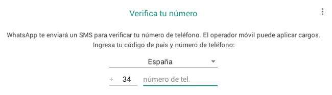 Imagen - Cómo instalar WhatsApp en un tablet