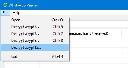 """Imagen - Cómo abrir un archivo """"crypt12"""""""