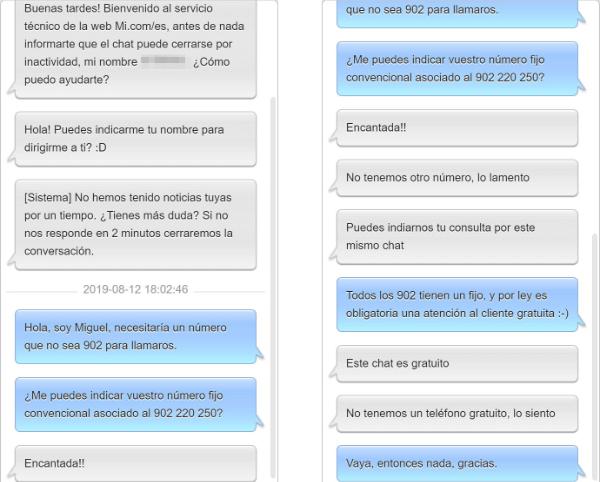 Imagen - Cómo llamar gratis a atención del cliente de Xiaomi