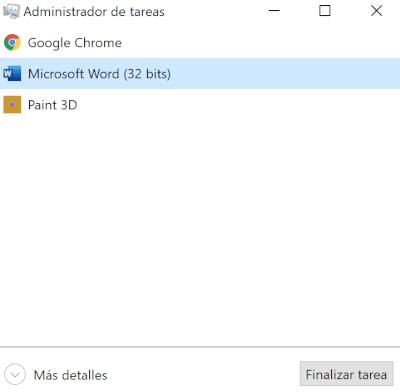 Imagen - Cómo recuperar un archivo de Word no guardado