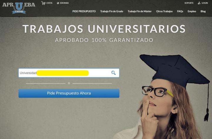 Imagen - Apruebatodo, la polémica web para encargar trabajos universitarios