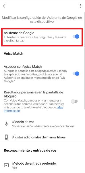 Imagen - Cómo activar Google Assistant