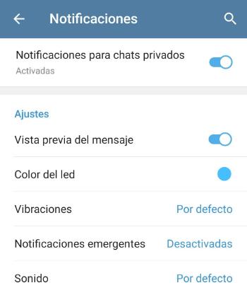 Imagen - Cómo silenciar chats de Telegram