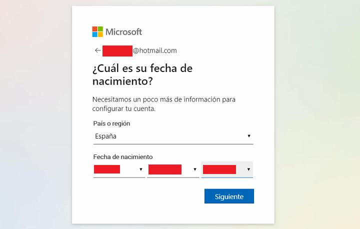 Imagen - Cómo crear una cuenta de Hotmail o Outlook