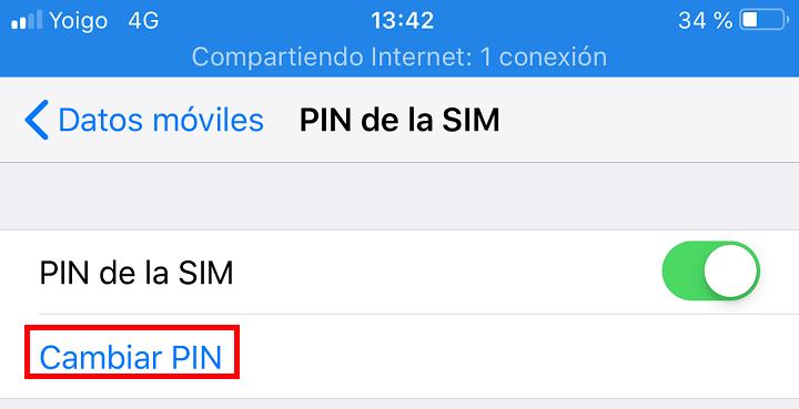 Imagen - Cómo cambiar el PIN de iPhone