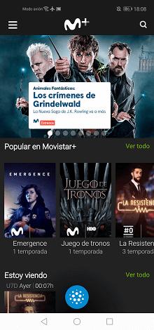 Imagen - Cómo ver Movistar+ con Chromecast