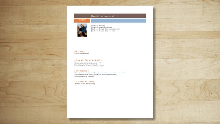 Imagen - 14 plantillas de curriculum vitae