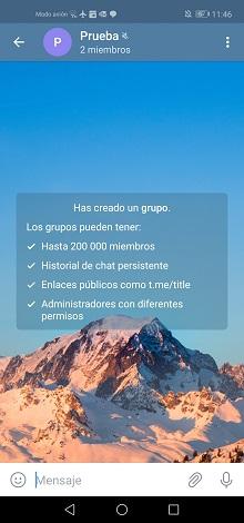 Imagen - Como crear y unirse a grupos de Telegram