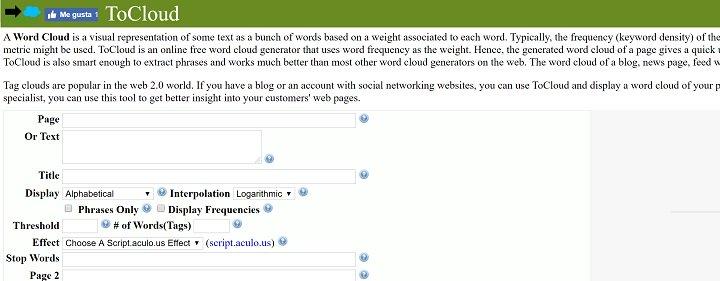Imagen - 10 herramientas para crear una nube de palabras